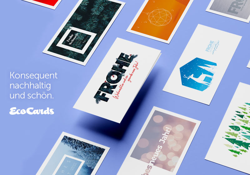 Nachhaltige weihnachtskarten die umweltfreundlich for Weihnachtskarten online versenden